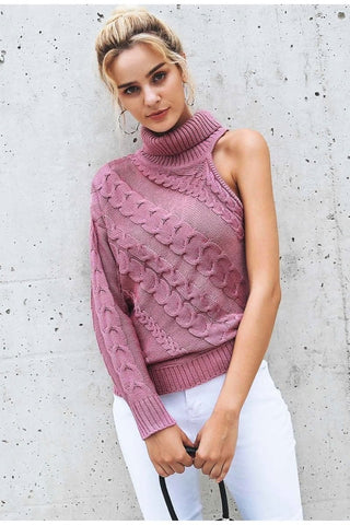 Jane Knitted Turtleneck Sweater