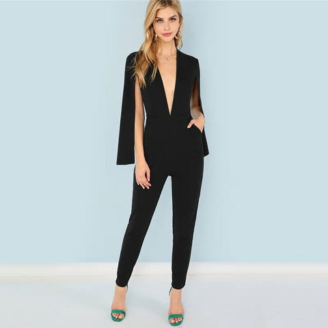 Ally Black Jumpsuit