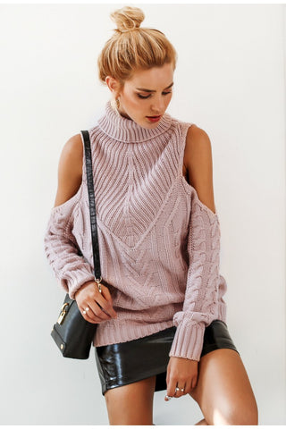 Elane Knitted Turtleneck Sweater