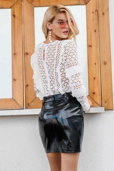 Leyna Lace Top