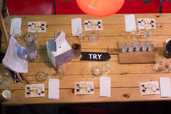 TRY Gin Tasting in der Makrthalle IX (Foto: TRY FOODS, Maria Marin)