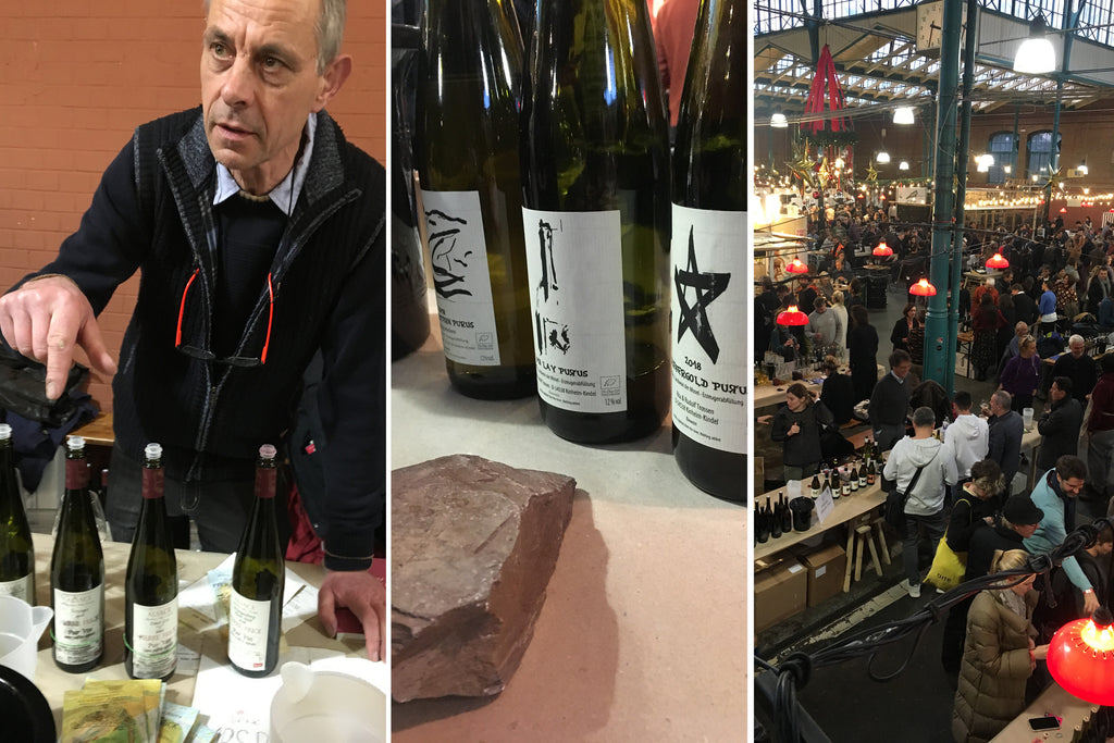 Raw Wine Messe in Berlin