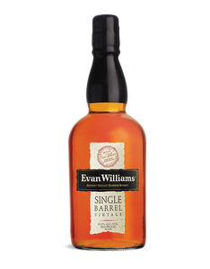 Evans Williams Single Barrel Bourbon Whiskey