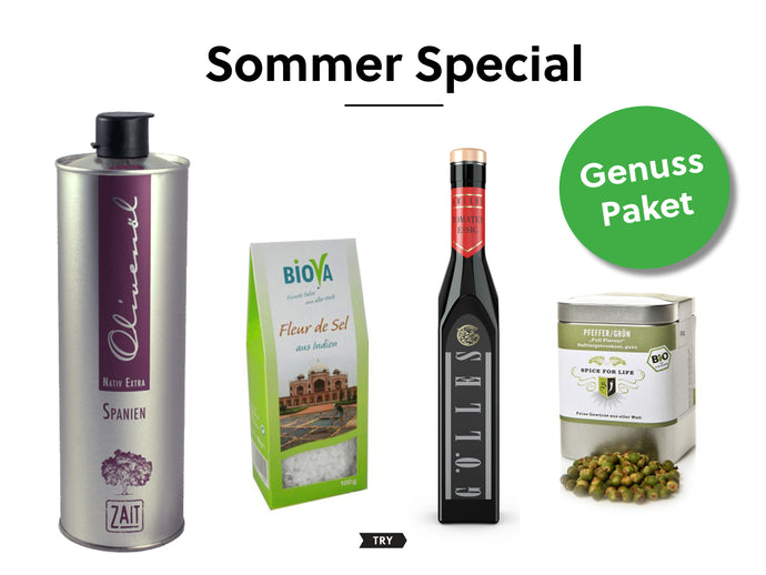 Summer Essentials Paket - tryfoods