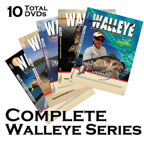 Complete Walleye DVD Series