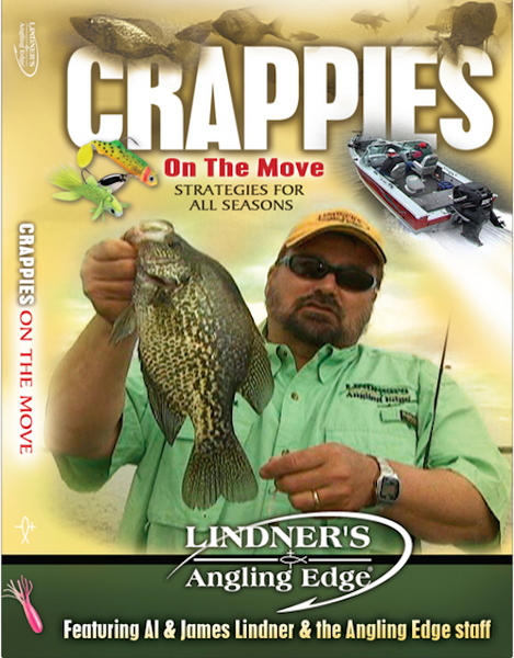 Crappies on the Move - Angling Edge DVD
