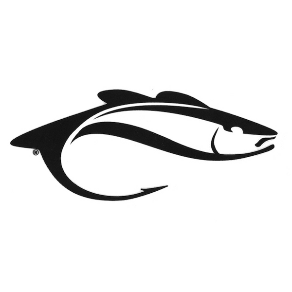 Angling Edge Fish-ONLY Decal