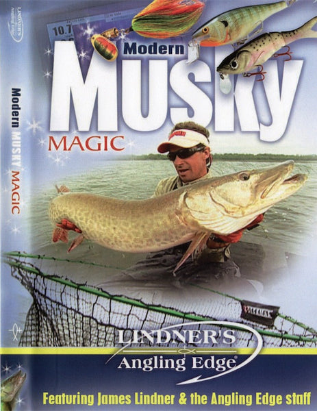 Modern Musky Magic - Angling Edge DVD