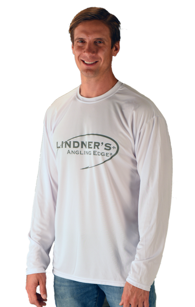 White Angling Edge Long Sleeve T-Shirt