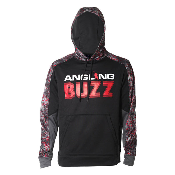 anglingbuzz hoodie (front)