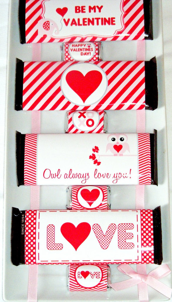 Valentines Day Printable Candy Wrapper