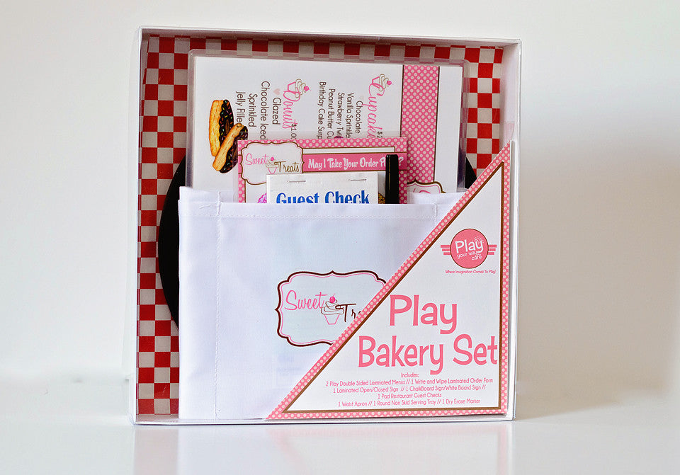 Play Bakery Menu Gift Set