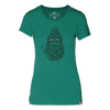 Captain Beard Bird Women's 50/50 T-Shirt