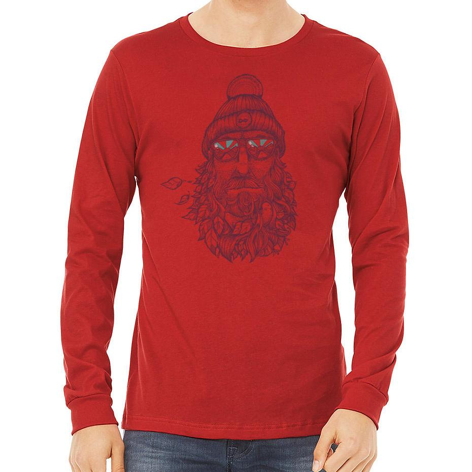 Captain Bird Beard 50/50 Long Sleeve T-Shirt