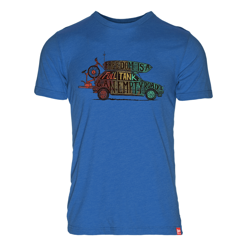 Freedom Ride Organic 50/50 T-Shirt