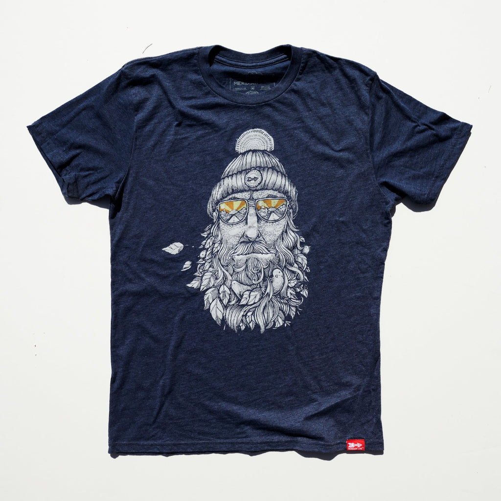 Captain Bird Beard 2.0 50/50 TEE