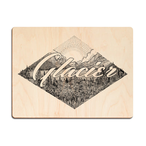 Appalachian Trail Wood Print