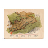 Grand Canyon National Park Wood Print - The Meridian Line