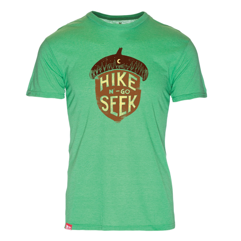 Hike N Go Seek Triblend T-Shirt - The Meridian Line