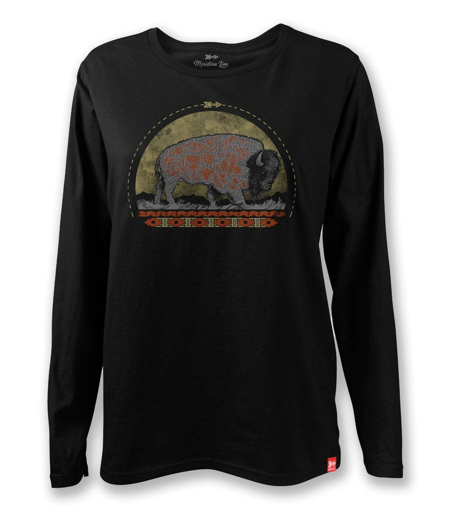 Petra Bison Long Sleeve Tee
