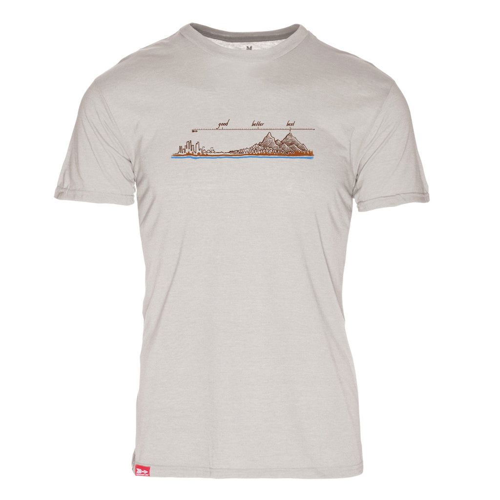 Simply Good Better Best T-Shirt - The Meridian Line