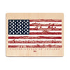 US of Awesome Wood Print - The Meridian Line