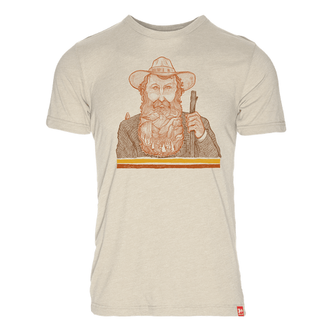 Captain Bird Beard 50/50 T-Shirt