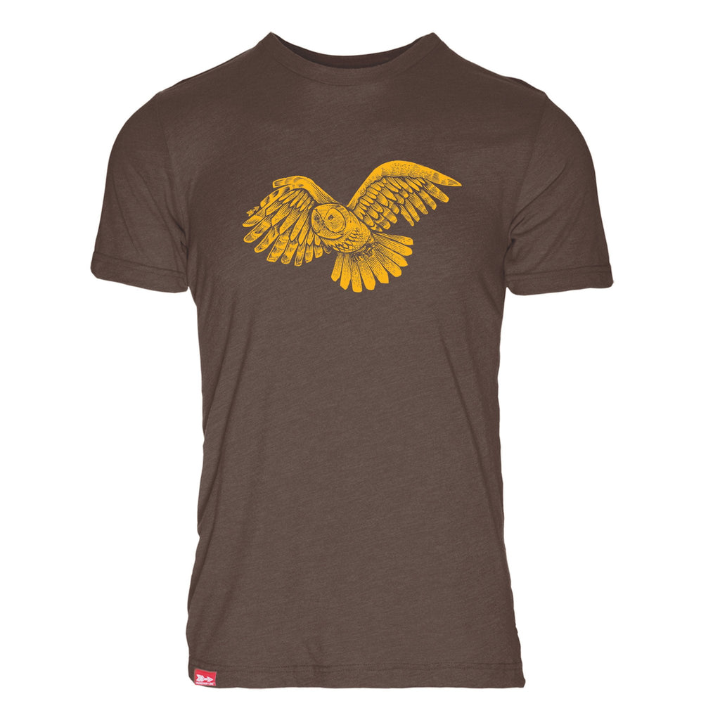 Ascending Owl Triblend T-Shirt - The Meridian Line