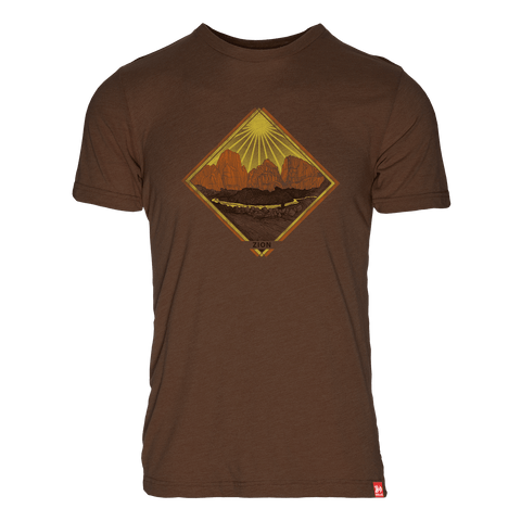 USA Parks Map Triblend T-Shirt