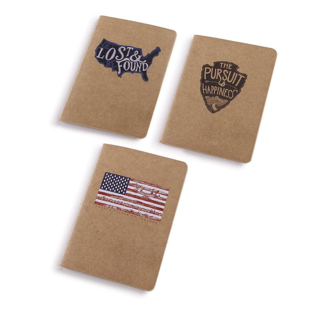 America Pocket Notes Set of 3 - The Meridian Line