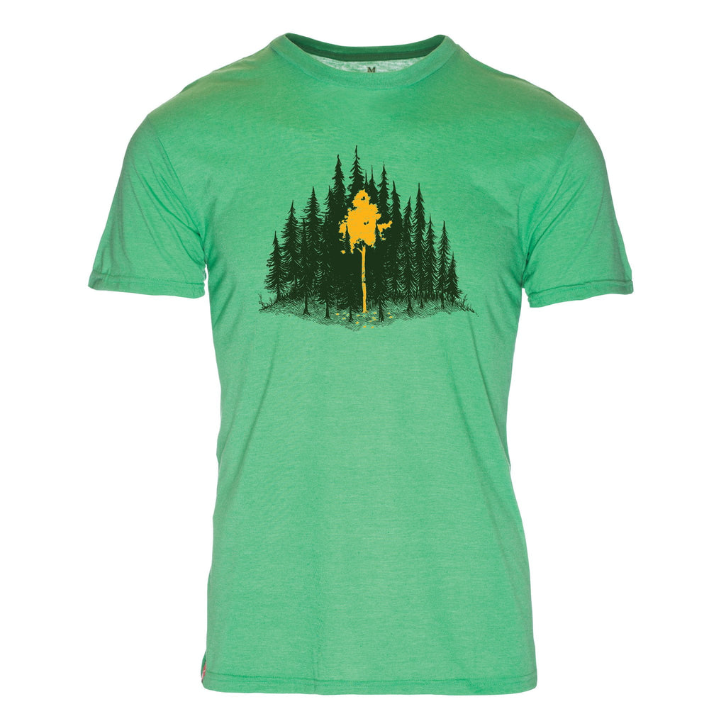 Aspen Leaves Triblend T-Shirt - The Meridian Line