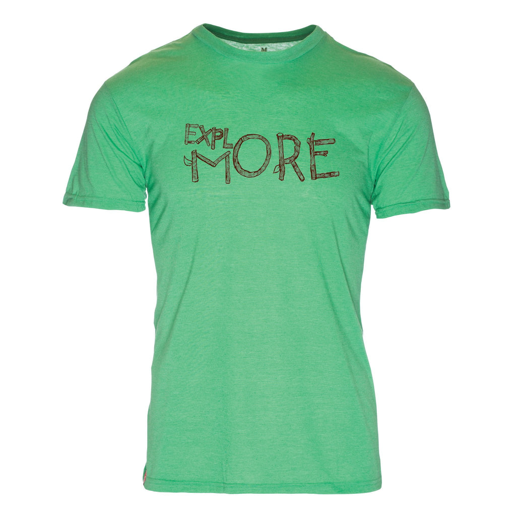 Explore More Triblend T-Shirt - The Meridian Line
