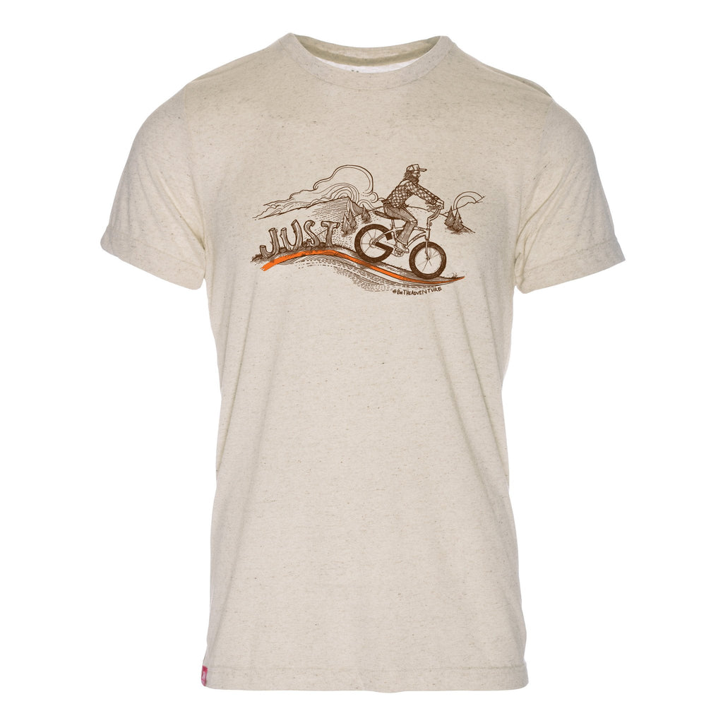 Just Go Bike Triblend T-Shirt - The Meridian Line