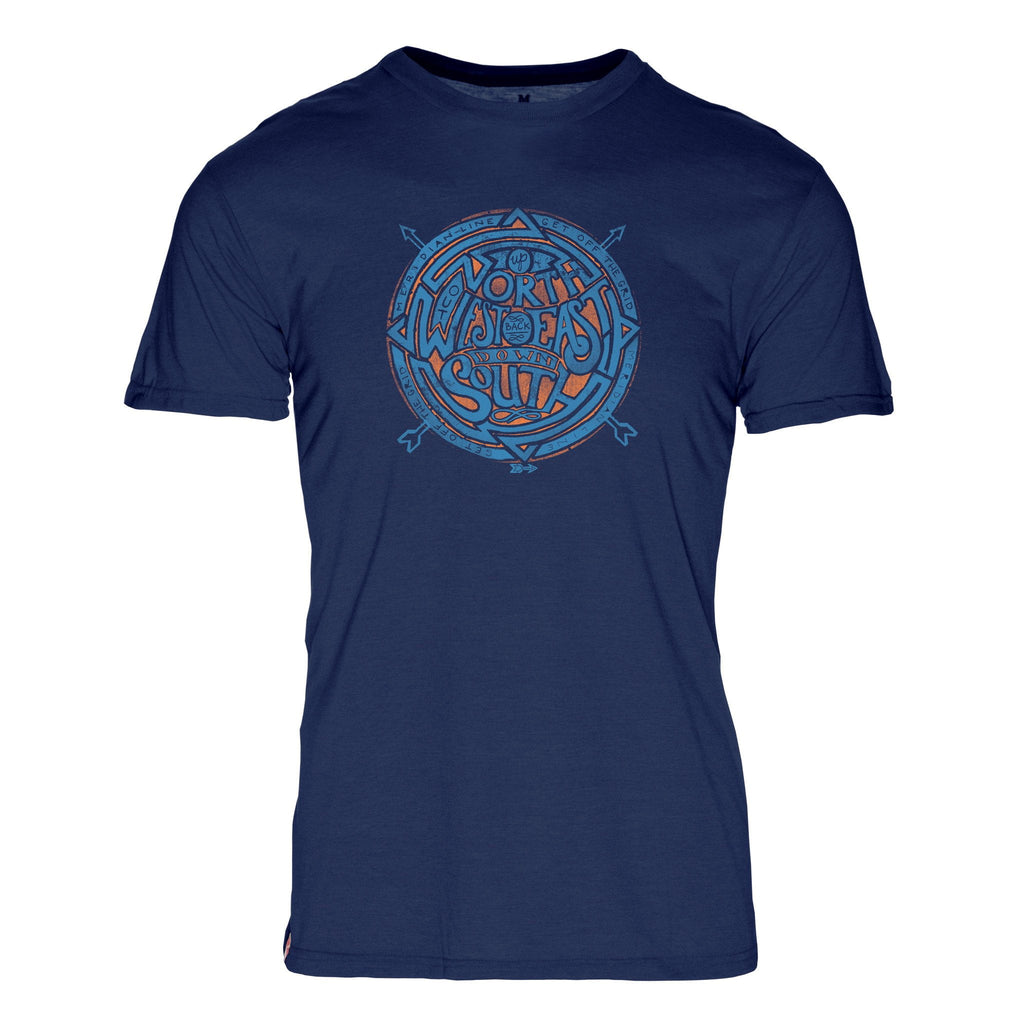 NSEW Triblend T-Shirt - The Meridian Line