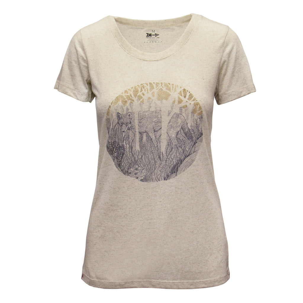 Shirts - Red Wolf Women's Triblend T-Shirt