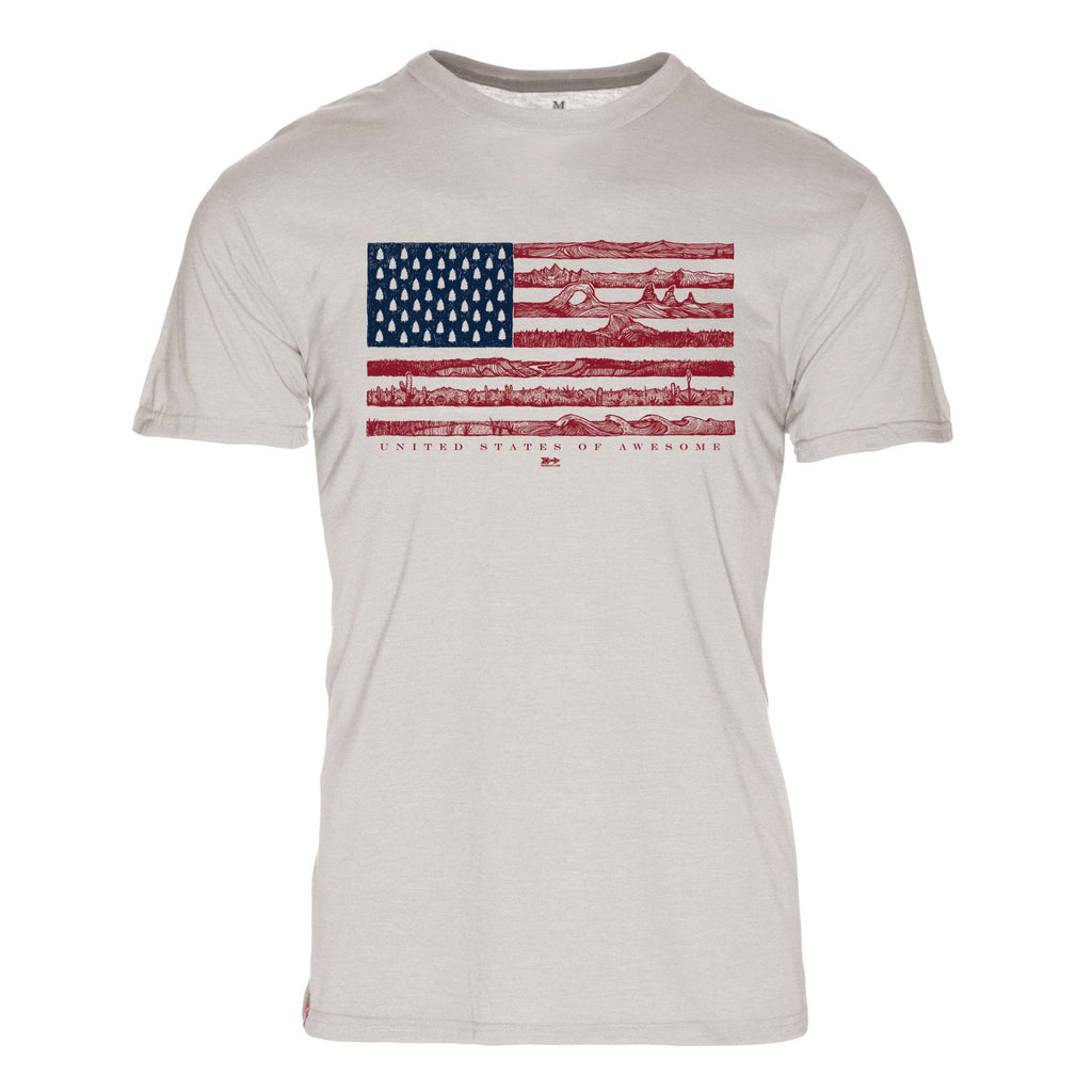 Shirts - US Of Awesome Cotton T-Shirt