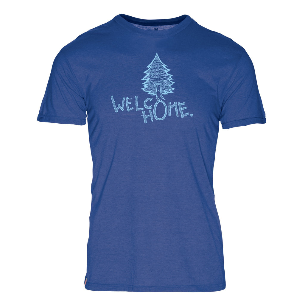 Welcome Home Triblend T-Shirt - The Meridian Line