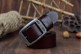 100% cowhide genuine leather belts for men