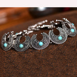 Boho Chic Choker Necklace Statement Jewelry for Women Fashion