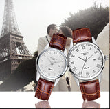 Luxury Waterproof Leather Quartz Watch