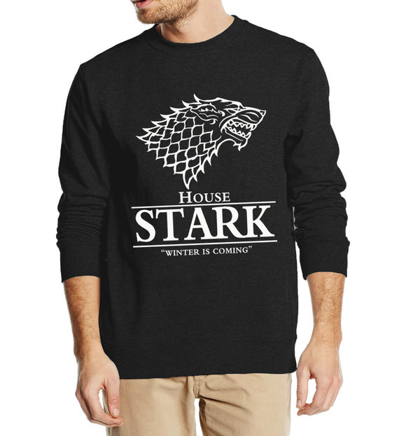 House Stark Winter is Coming Autumn Winter Sweatshirts for Men