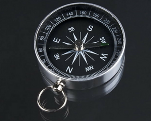 Lightweight hiking camping pocket compass