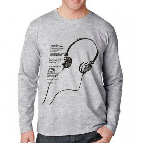 Men's Round-Neck long sleeve Sweatshirt