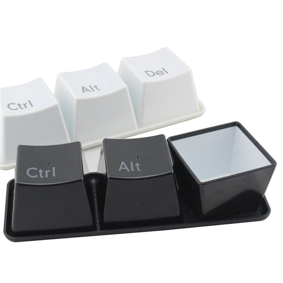 3pcs/Set Novelty Ctrl ALT DEL Coffee Mug