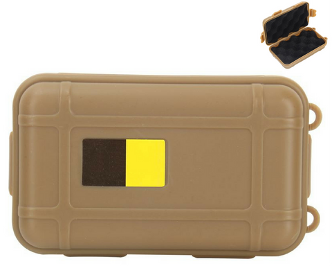 Shockproof waterproof outdoor survival storage case - mud