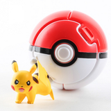 "New Throw ""n"" Pop Pokemon Go Pokeballs with Action Figures Toys"