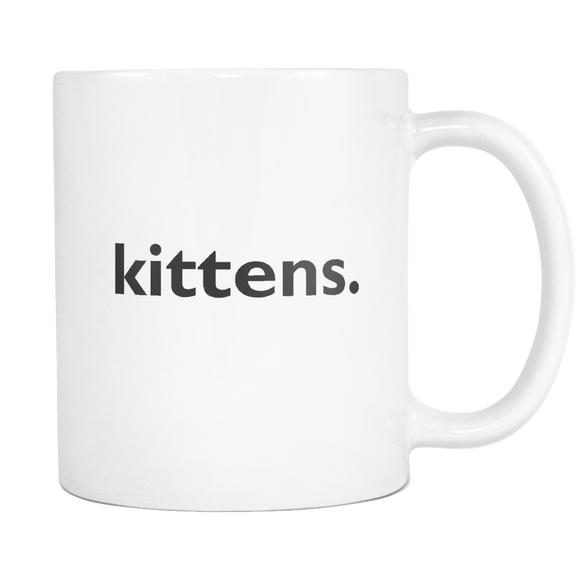 Kittens. Coffee Mug