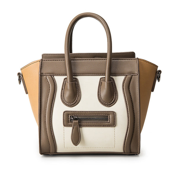 Tote Bag Bolsos Mujer Trapeze Luxury Leather Handbag