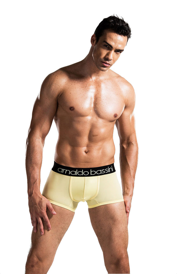 Breathable Mid Waist Boxer Short men's underwear