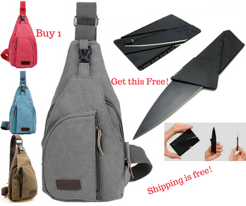 Tactical Military Messenger Bag + 1 Free Foldable Mini Tactical Tool